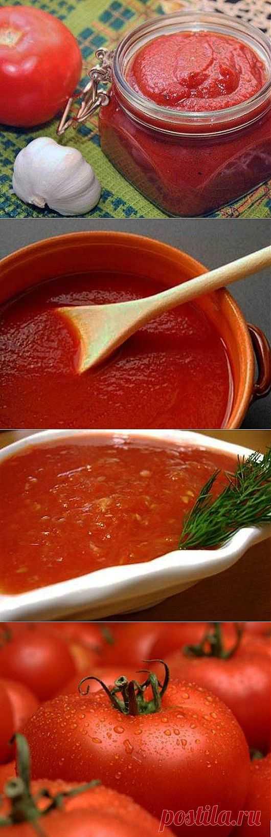 Пикантная домашняя томатная паста | One of Lady - Журнал для женщин