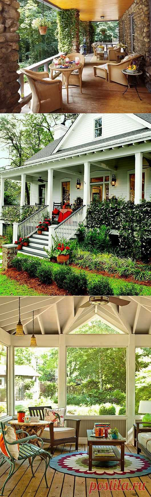 Дизайн интерьера крыльца дома.