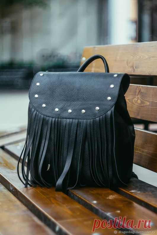 Кожаный рюкзак  Crocus  – купить в интернет-магазине на Ярмарке ... 62d43e2e39a