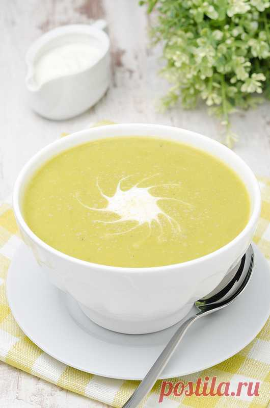 Гороховый суп с картофелем и имбирем. (Рецепт по клику на картинку).