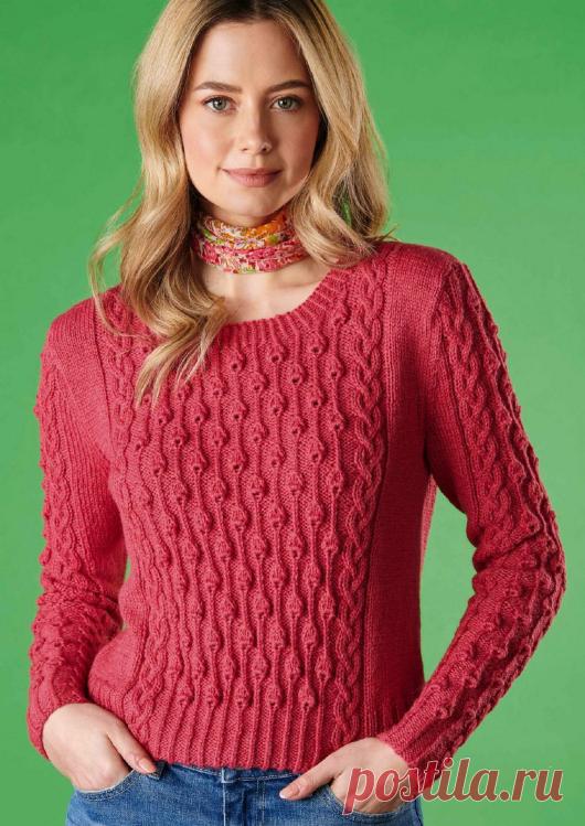 Вязаный пуловер Campanile | ДОМОСЕДКА