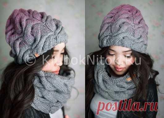 шапка лало вязание для женщин вязание спицами и крючком схемы