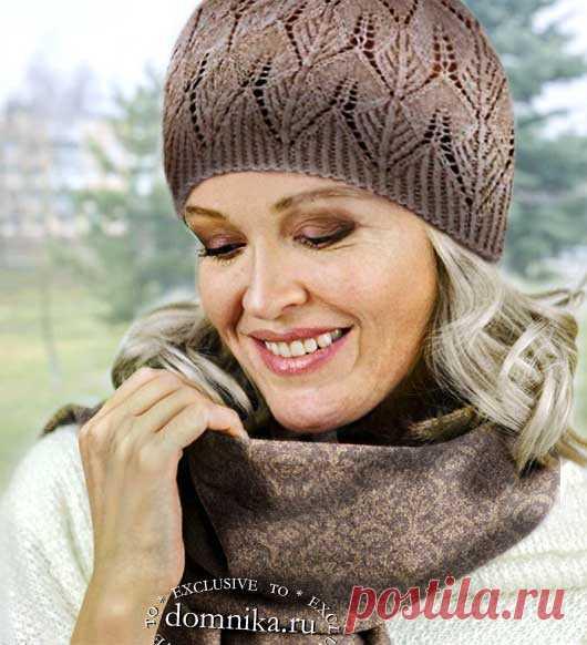 Как выбрать шапку для женщины 56 лет - 21 модель с описанием вязания