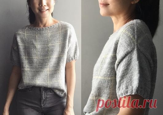 Вязаный пуловер Atrium