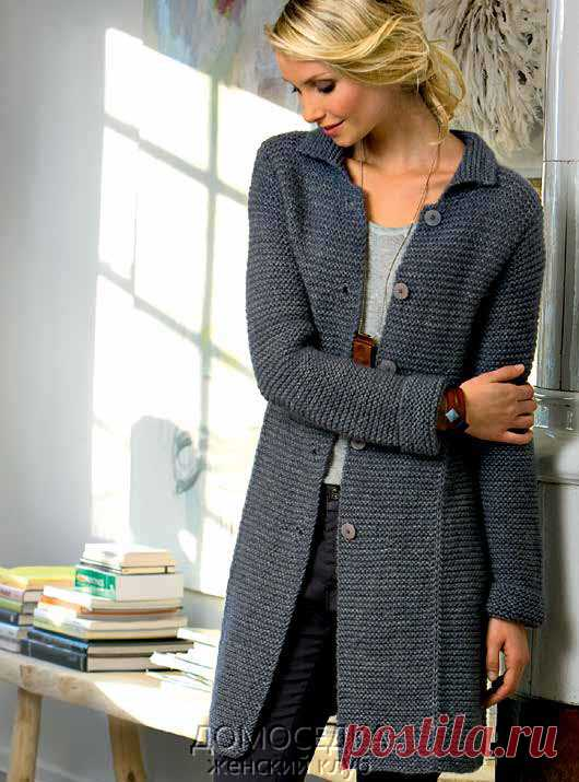 Stylish knitted Fiona coat. Discussion on Blogs on Work