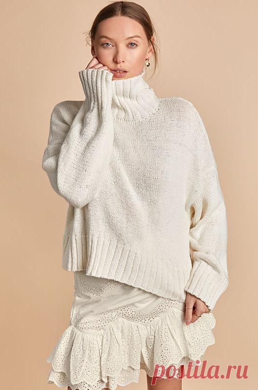 Вязаный свитер Neyah | ДОМОСЕДКА