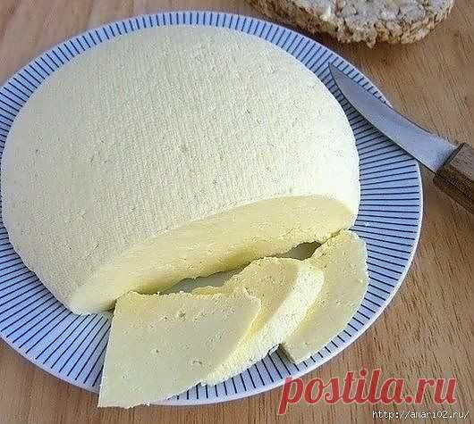 Рецепт вкусного домашнего сыра..