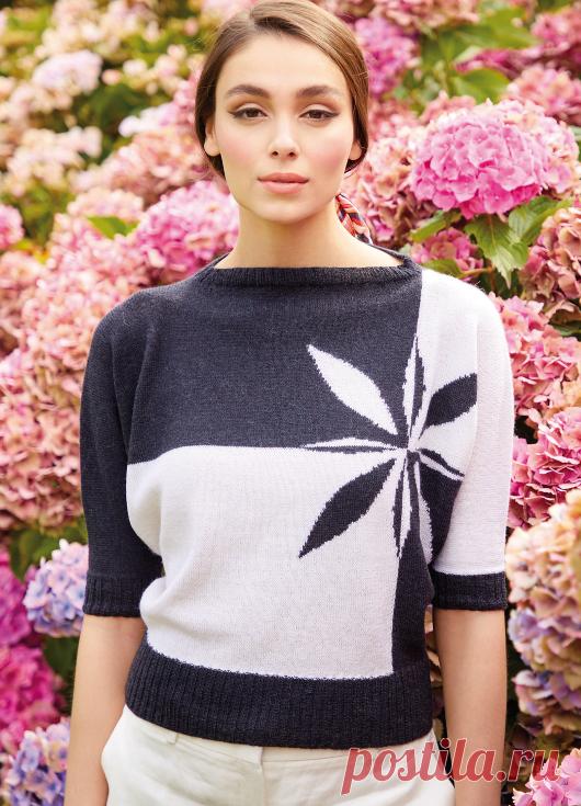 Вязаный пуловер Maggie