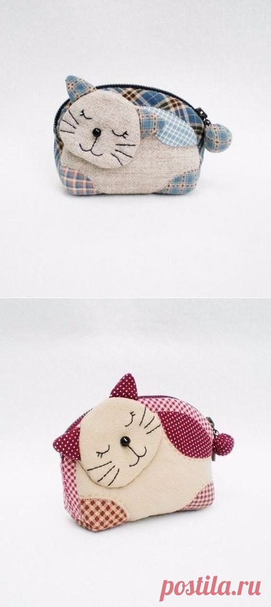 Выкройка самых милых в мире кошельков — Сделай сам, идеи для творчества - DIY Ideas