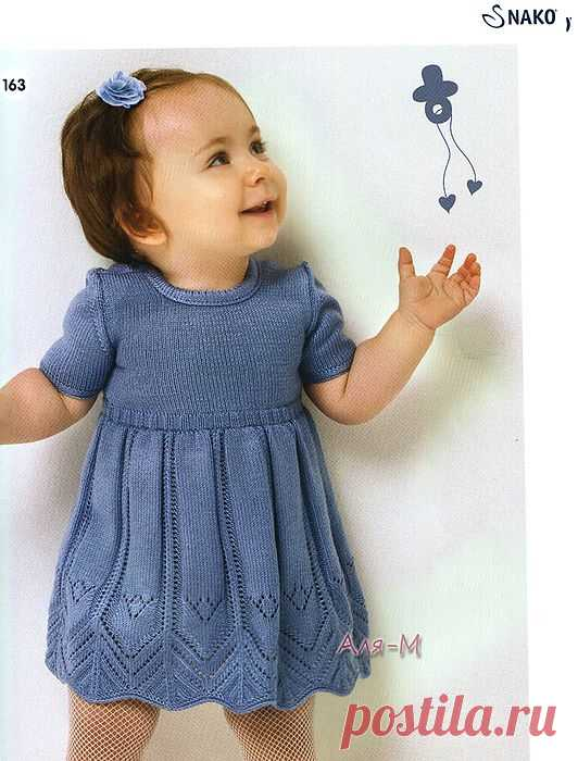 Платье для малышки от Nako.