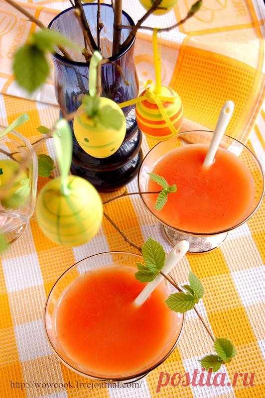 В желтом цвете: Грейпфрутовый кисельс ванилью