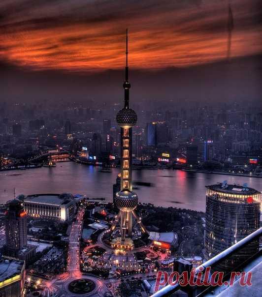 Китай, #Шанхай@discoverygroup