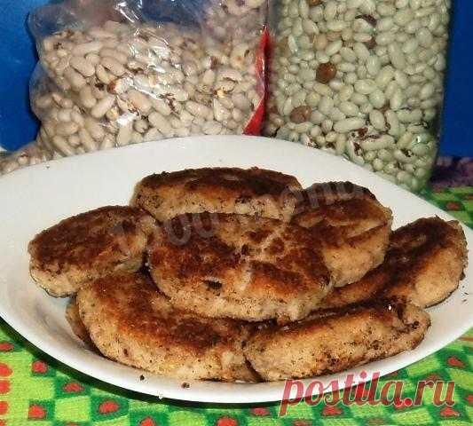 Котлеты из фасоли с луком в панировке рецепт с фото пошагово - 1000.menu