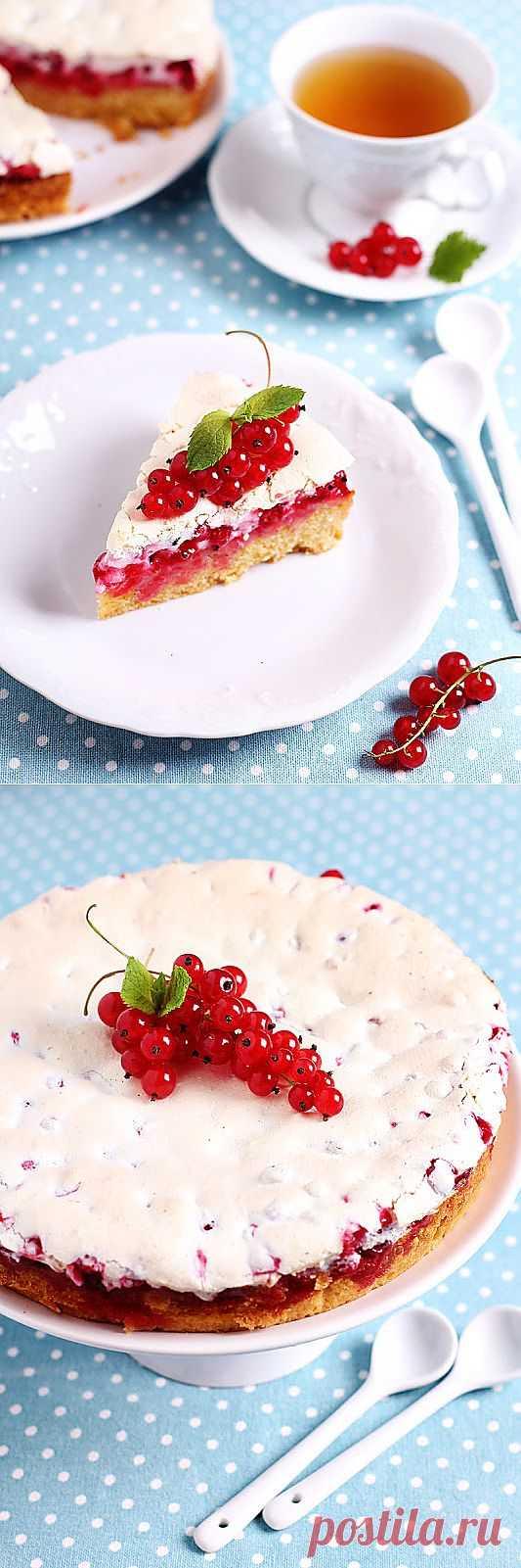 Пирог с красной смородиной. Автор: fahrwasser