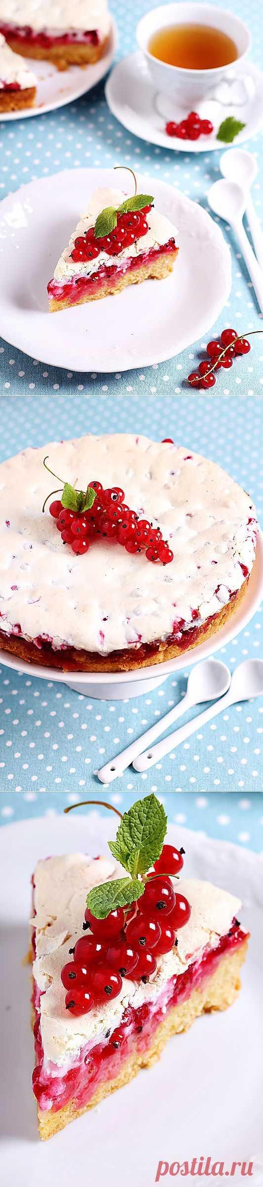 Пирог с красной смородиной!
