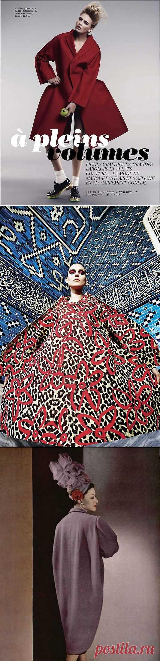 Мне - пальто, и побольше! Часть 1 (большая подборка) / Пальто и шубы / Модный сайт о стильной переделке одежды и интерьера