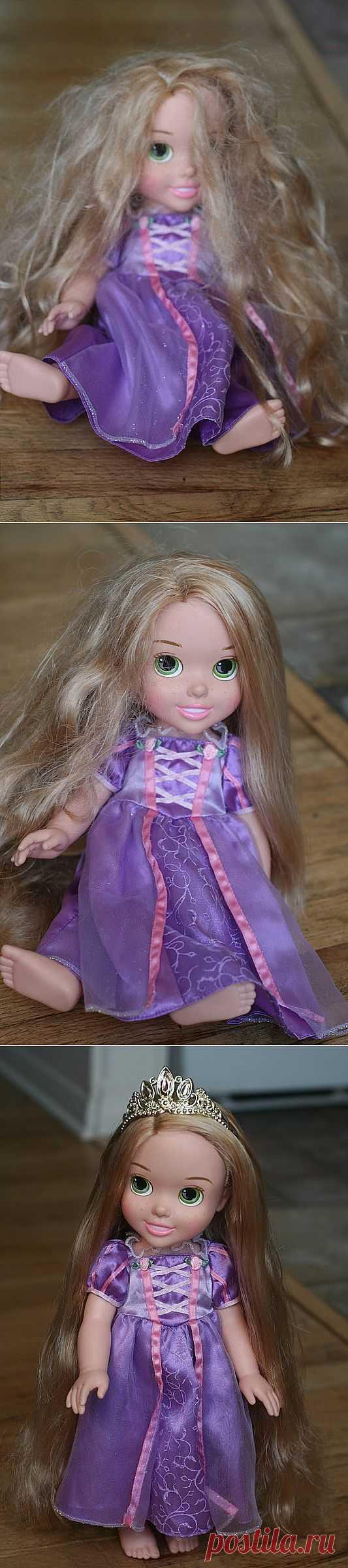 Как расчесать Рапунцель? (Diy) / Детская комната / Модный сайт о стильной переделке одежды и интерьера