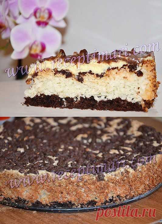 """Торт """"Баунти"""" Невероятно вкусный, красивый и нежный!"""