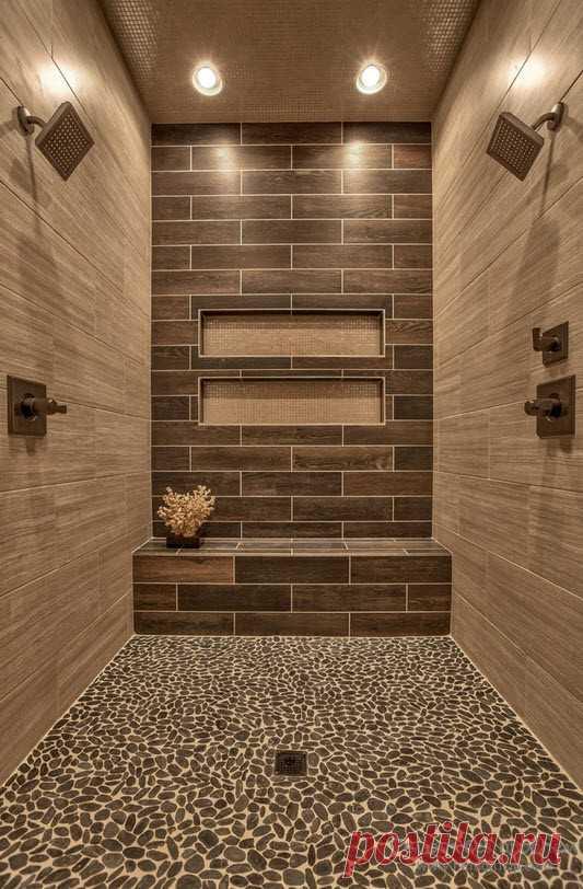 Современный дизайн ванной комнаты | 50 идей оформления стильной ванной