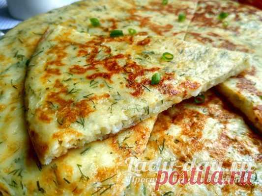 Ленивые хачапури с сыром на сковороде, рецепт с фото на кефире | Простые рецепты с фото