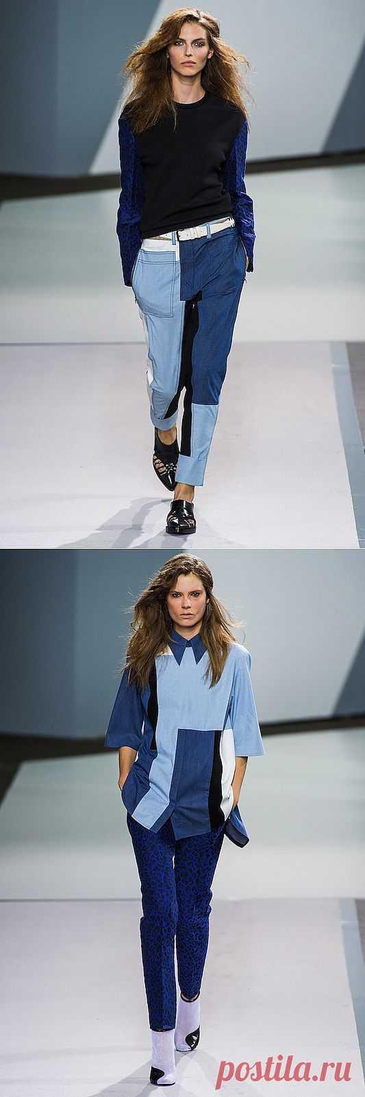 Брюки и рубашка пэчворк от Phillip Lim / Пэчворк / Модный сайт о стильной переделке одежды и интерьера