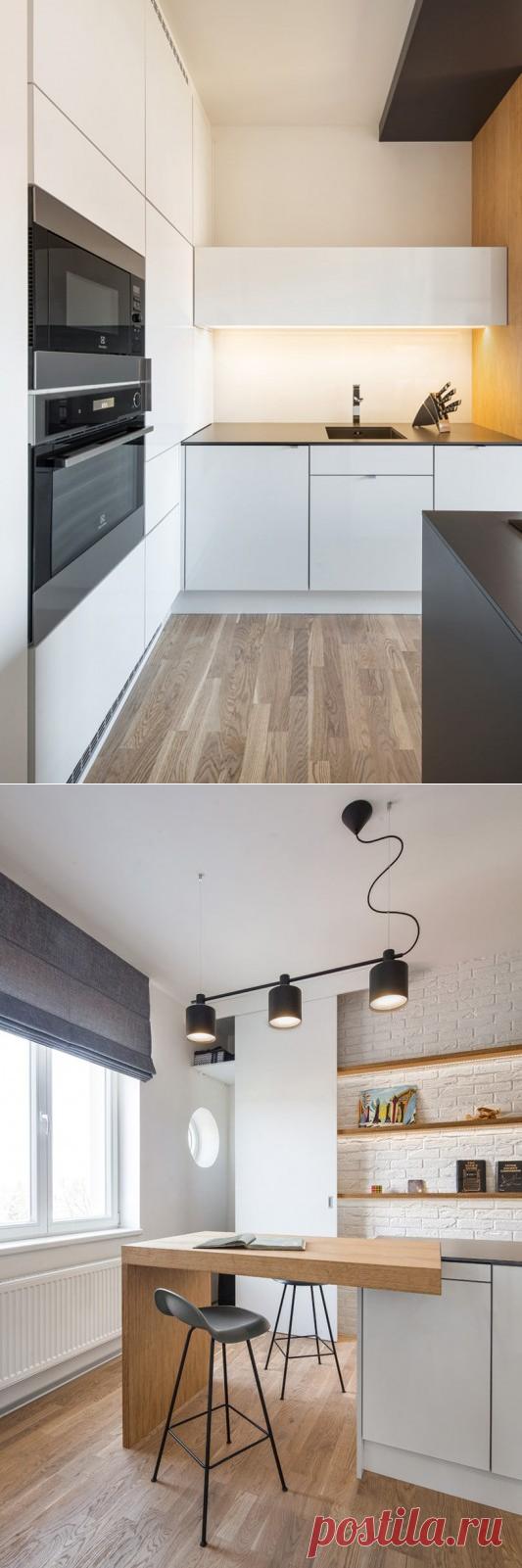 Апартаменты площадью 36 м2 в Праге — Lodgers - Дизайн интерьера