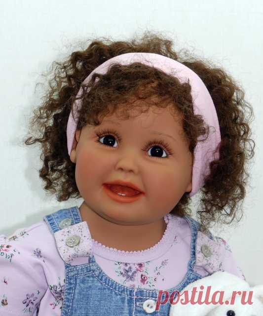 Dolls as children from Gerlinda Feser.