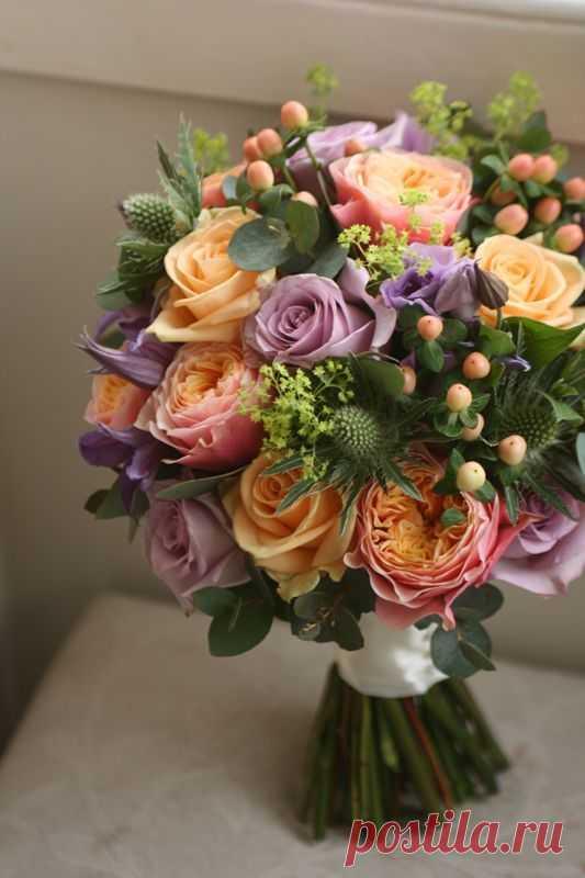 Флористика цветочные букеты