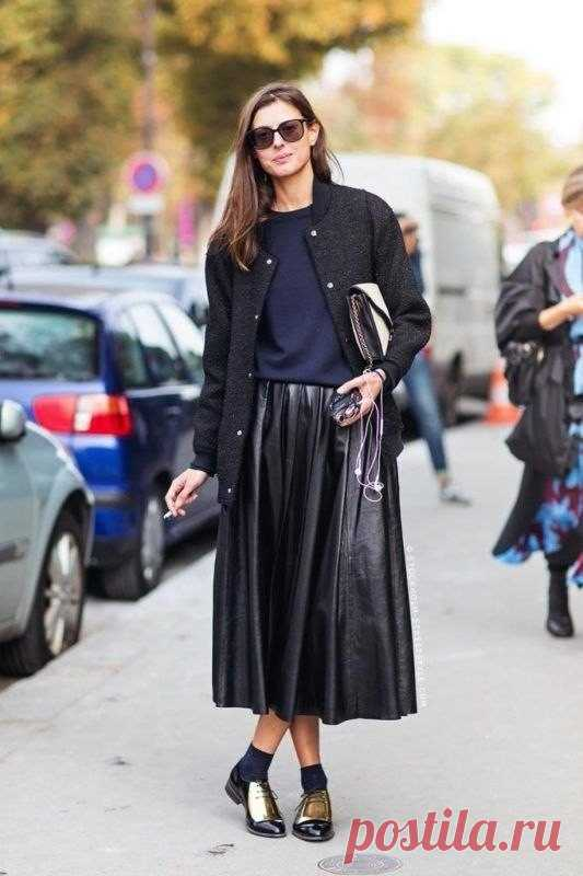 ¡Look! ¡La Falda-plisado y el saltador hípico! — es a la moda \/ Nemodno