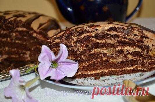 "Торт ""Дамский каприз"" | Рецепты Мари"