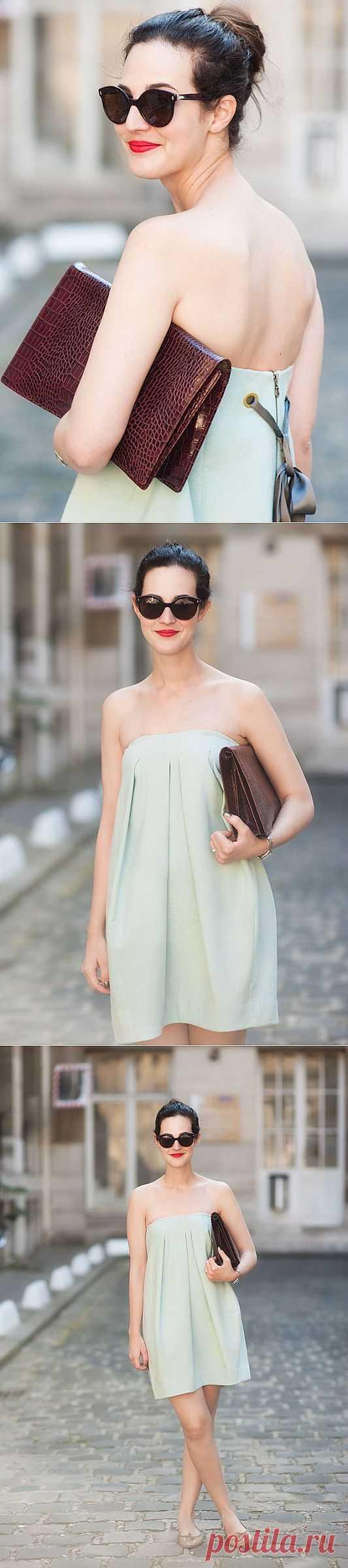 Платье-юбка? / Street Style / Модный сайт о стильной переделке одежды и интерьера