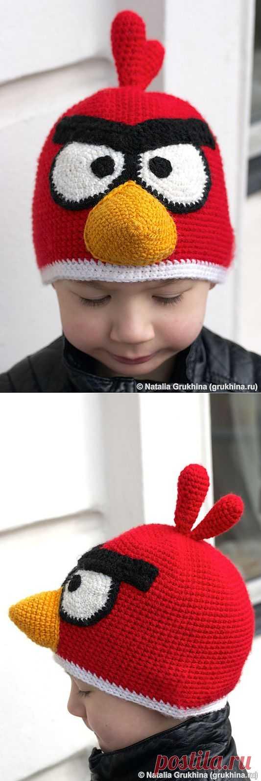 Шапочка Angry birds (Diy) / Для детей / Модный сайт о стильной переделке одежды и интерьера