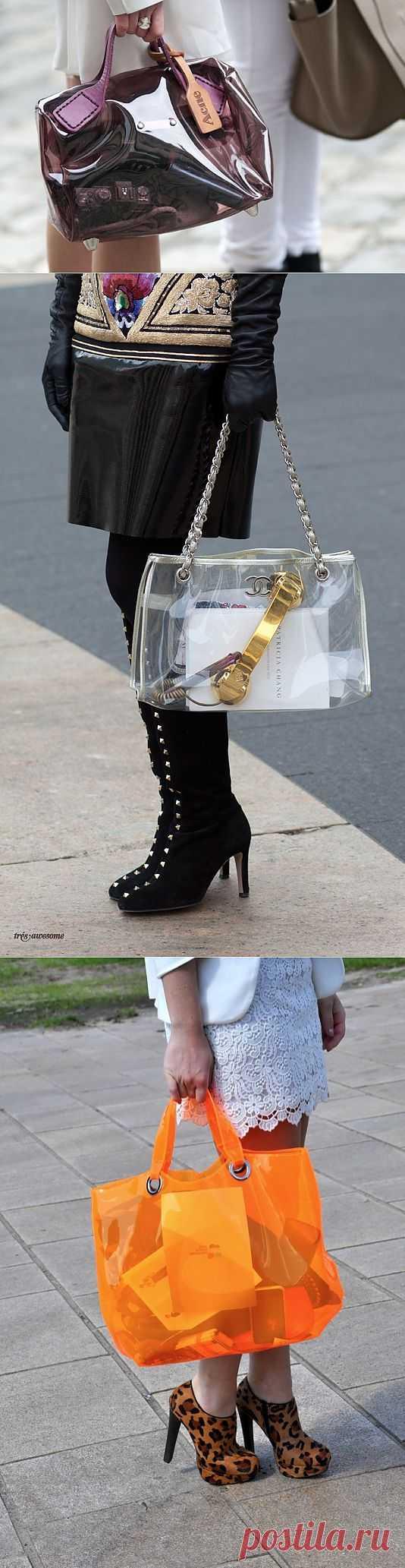 Прозрачные сумки (подборка) / Street Style / Модный сайт о стильной переделке одежды и интерьера