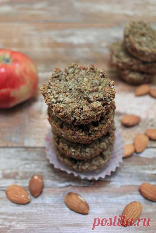 Миндально-яблочные кексы без муки, масла и яиц! (Рецепт по клик уна картинку).