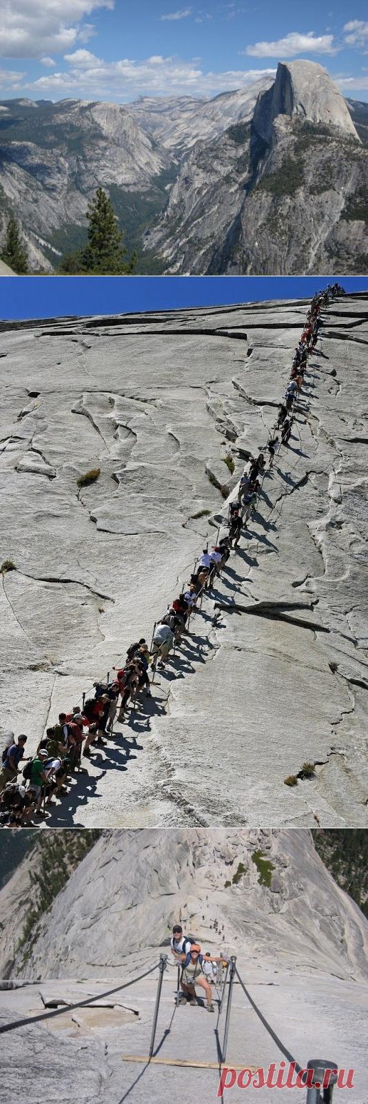 La semicúpula la roca Gigantesca de Yosemita - Viajamos juntos