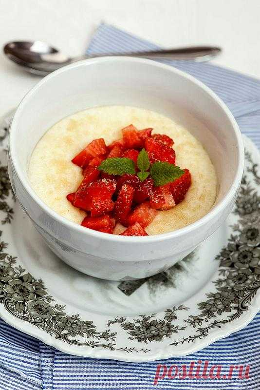 Cream of wheat with berries and brown sugar!