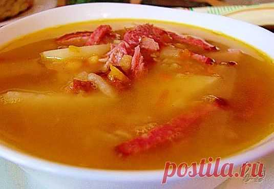 Рецепт для мультиварки – гороховый суп с ветчиной | Ваши любимые рецепты
