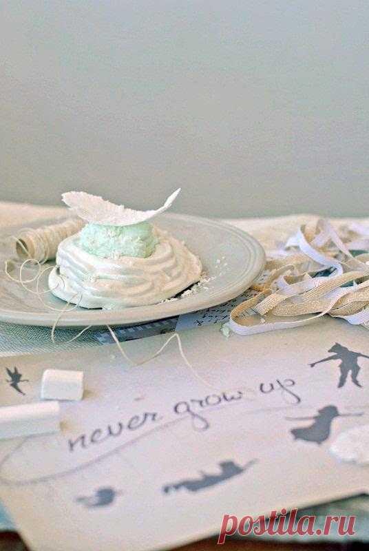 Готовим на желтках: Пирожное для Принцессы
