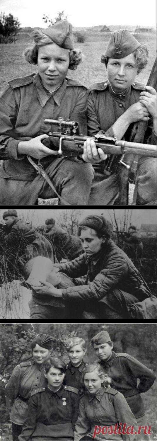 Женщины, которые воевали не хуже мужчин | Kликaбoл - всё самое интересное  Ко дню Победы