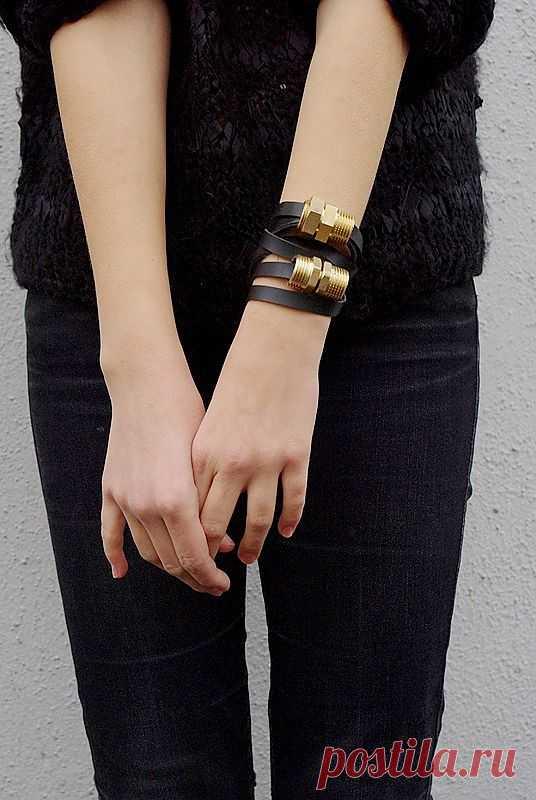 Водопроводный браслет / Украшения и бижутерия / Модный сайт о стильной переделке одежды и интерьера