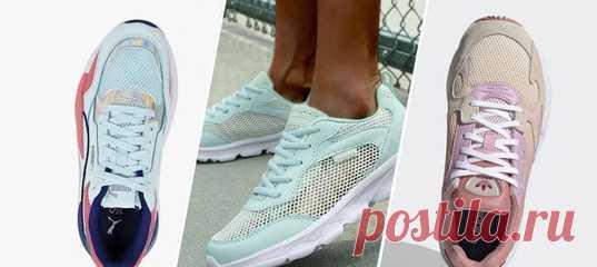 Комфортные модели для занятий спортом и на каждый день — в подборке найдётся и мужская, и женская обувь.