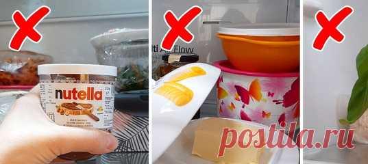 15 продуктов, которые в холодильнике хранит только неопытная хозяйка