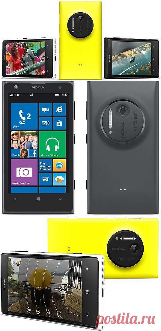 Nokia официально представила камерофон Lumia 1020 с 41-Мп сенсором