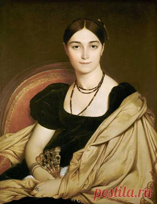 «Портрет мадам Девосэ» картина - Жан Огюст Доминик Энгр