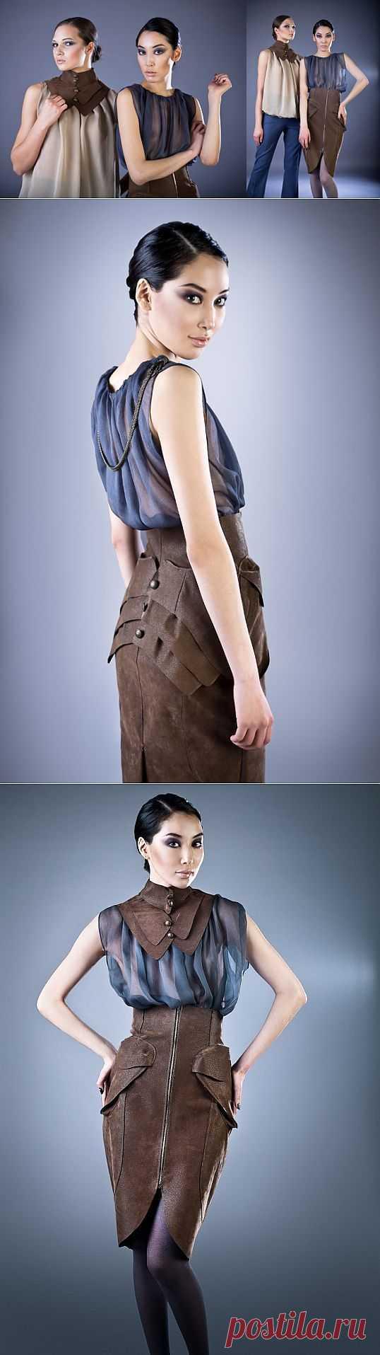 Юбка и воротник / Дизайнеры / Модный сайт о стильной переделке одежды и интерьера