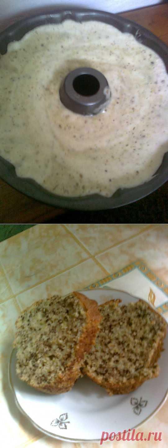 Орехово- кабачковый кекс   Любимые рецепты