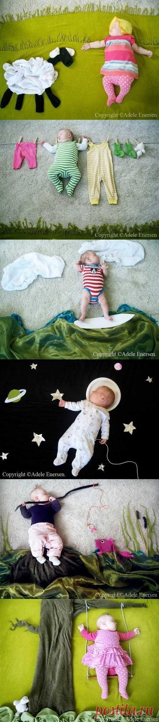 Великолепные фото спящей малышки – спешите запечатлеть своих крох!