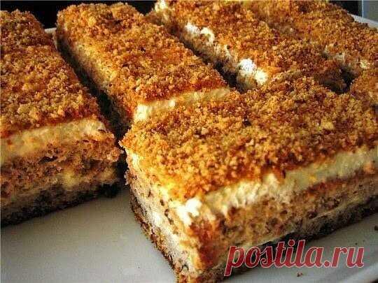 Пирожное «Белочка»   Просто и вкусно
