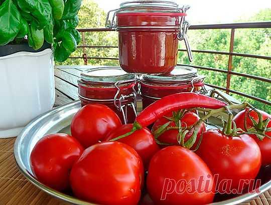 Натуральный домашний кетчуп - три вкусных и проверенных рецепта.
