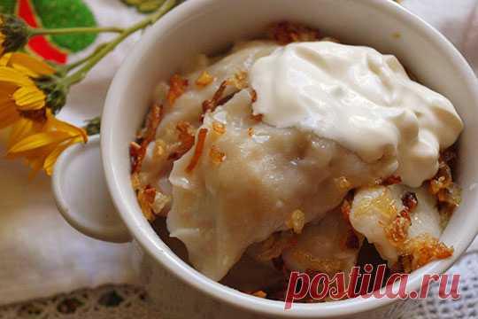 Вареники с квашенной капустой — Кулинарная страничка